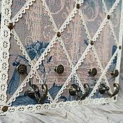 Для дома и интерьера ручной работы. Ярмарка Мастеров - ручная работа Панно-вешалка для украшений,бижутерии. Handmade.