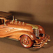 Подарки к праздникам ручной работы. Ярмарка Мастеров - ручная работа model car out of wood. Handmade.