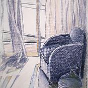 Картины и панно ручной работы. Ярмарка Мастеров - ручная работа Картина Летнее утро.. Handmade.