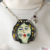 Украшения handmade. Livemaster - original item Art necklace