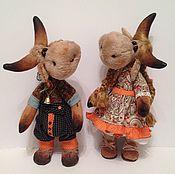 Куклы и игрушки ручной работы. Ярмарка Мастеров - ручная работа Коровушки. Handmade.