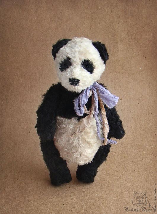 Мишки Тедди ручной работы. Ярмарка Мастеров - ручная работа. Купить Тимка. Handmade. Чёрно-белый, мишка ручной работы