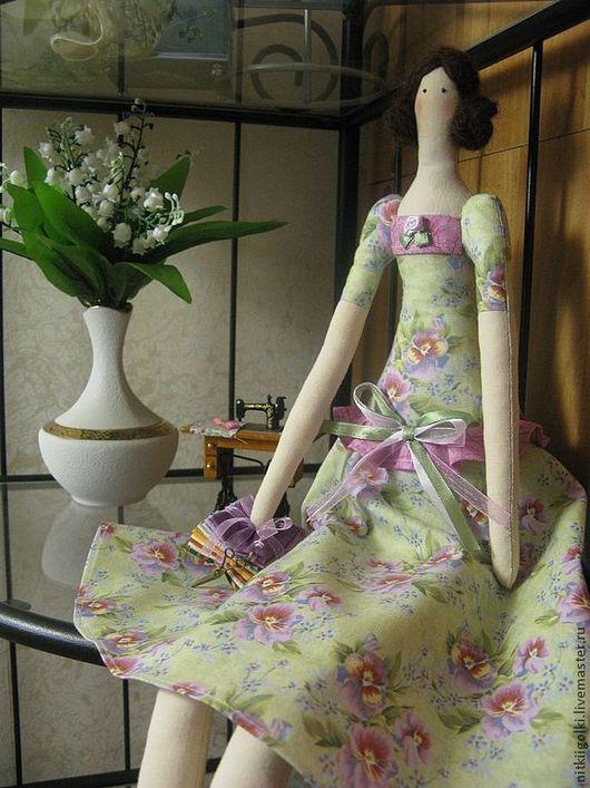 Куклы Тильды ручной работы. Ярмарка Мастеров - ручная работа. Купить Интерьерная кукла Тильда Белошвейка в подарок  для украшения дома. Handmade.