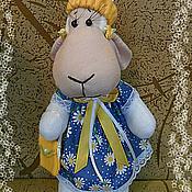 Куклы и игрушки ручной работы. Ярмарка Мастеров - ручная работа Овечка-Лапушка. Handmade.