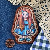 Куклы и игрушки handmade. Livemaster - original item Brooch