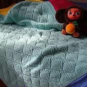 Для дома и интерьера ручной работы. Ярмарка Мастеров - ручная работа Одеяло для малыша. Handmade.