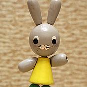 Винтаж ручной работы. Ярмарка Мастеров - ручная работа деревянные игрушки прошлого века. Handmade.