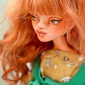 Рыжая авторская кукла желанница. Artdoll