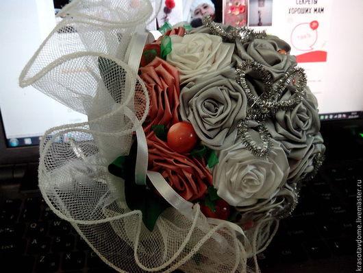 Свадебный букет `Лунный свет`