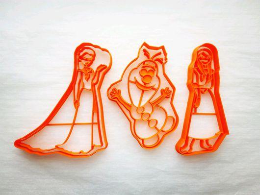 Кухня ручной работы. Ярмарка Мастеров - ручная работа. Купить Холодное сердце (персонажи) - вырубка для печенья, пряников, мастики. Handmade.