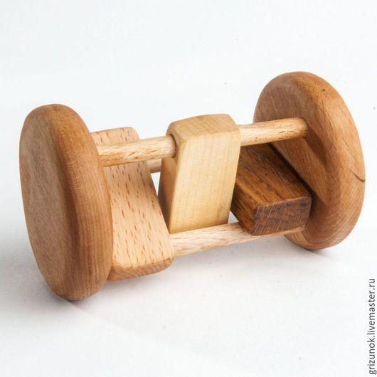 """Развивающие игрушки ручной работы. Ярмарка Мастеров - ручная работа. Купить Каталочка """"Кастаньеты"""". Handmade. Комбинированный, игрушки для малышей"""