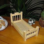 Куклы и игрушки ручной работы. Ярмарка Мастеров - ручная работа Кроватка для кукол №2. Handmade.
