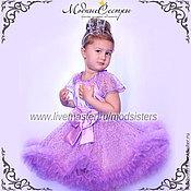 Одежда handmade. Livemaster - original item Dress Queen purple Art.231. Handmade.