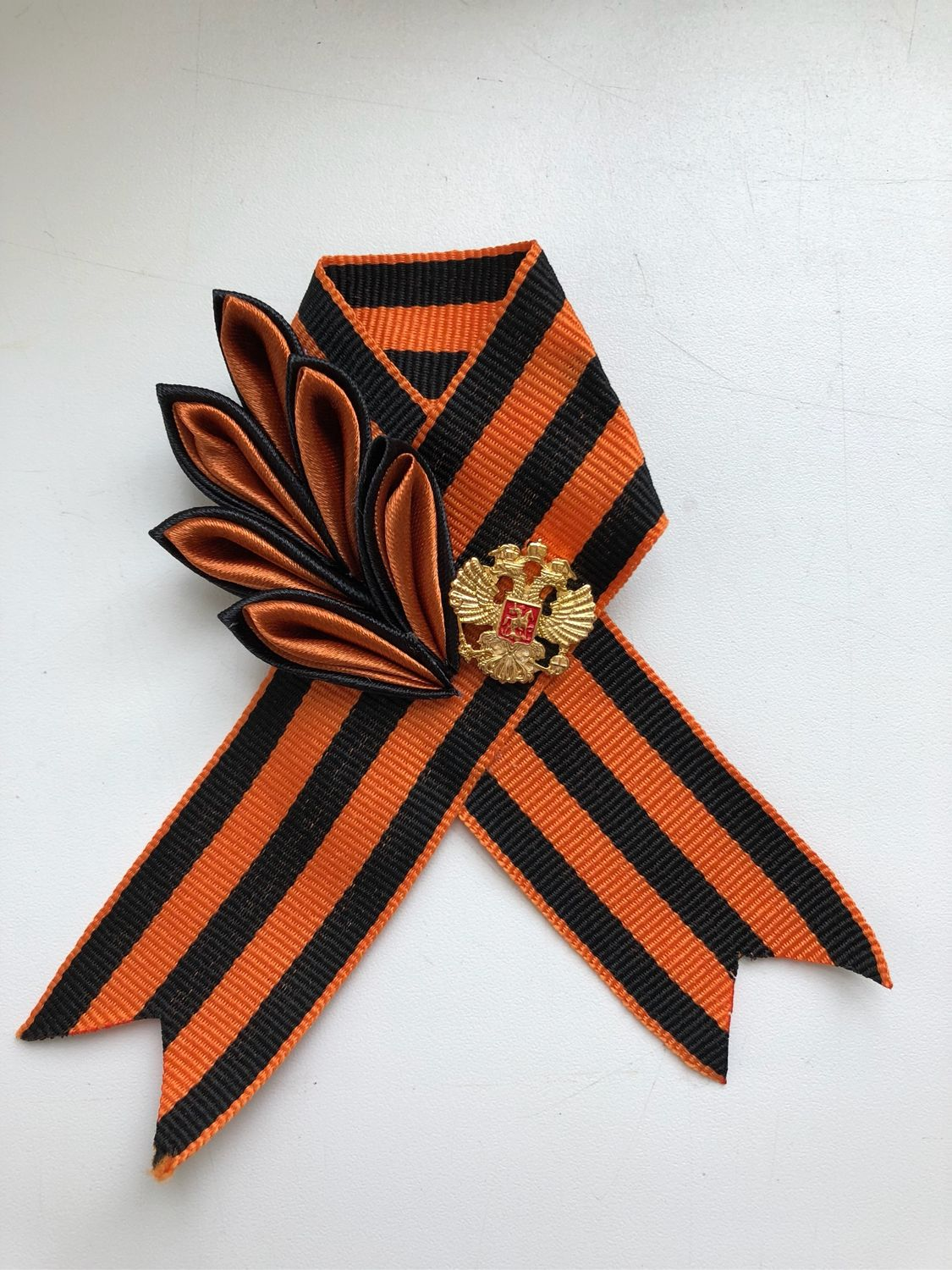 Brooch of St. George the VICTORY PARADE, Brooch-clip, Moscow,  Фото №1