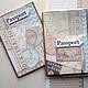 Обложки ручной работы. Ярмарка Мастеров - ручная работа. Купить Обложки на паспорт Мое путешествие Подарок для пары Для документов. Handmade.
