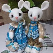 Куклы и игрушки handmade. Livemaster - original item Mouse toy-a pair of mice. Handmade.