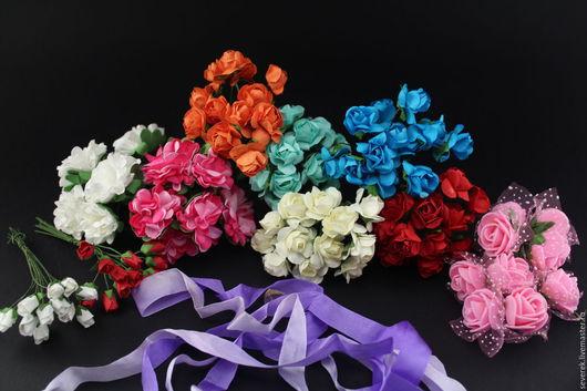 Куклы и игрушки ручной работы. Ярмарка Мастеров - ручная работа. Купить Розы,хризантемы,каллы из фоамирана и бумаги. Handmade.