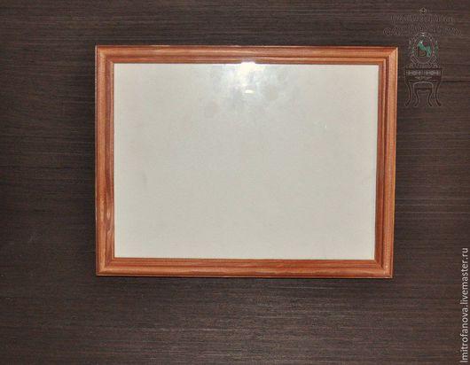 Фоторамки ручной работы. Ярмарка Мастеров - ручная работа. Купить Рамка дерево+стекло. Handmade. Рама, багетная рамка