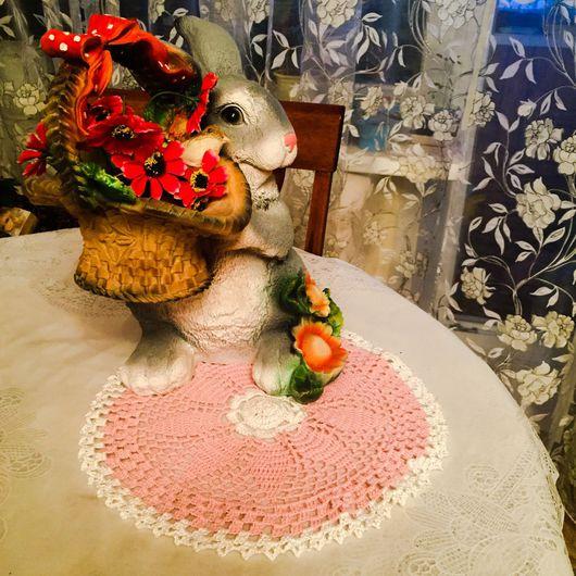 Быт ручной работы. Ярмарка Мастеров - ручная работа. Купить Салфетки вязанные крючком от бабушки Фаи. Handmade. Салфеточки