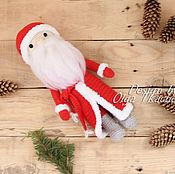 Куклы и игрушки handmade. Livemaster - original item Knitted Santa Claus handmade. Handmade.
