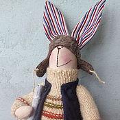 """Куклы и игрушки ручной работы. Ярмарка Мастеров - ручная работа Тильда заяц """" Прохор с метлой"""". Handmade."""