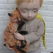Куклы и игрушки ручной работы. Ярмарка Мастеров - ручная работа Я  в  ответе  за  мою  розу...(РАБОТА ПРОДАНА). Handmade.