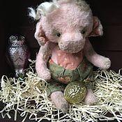 Мягкие игрушки ручной работы. Ярмарка Мастеров - ручная работа Свинка Пэпа. Handmade.