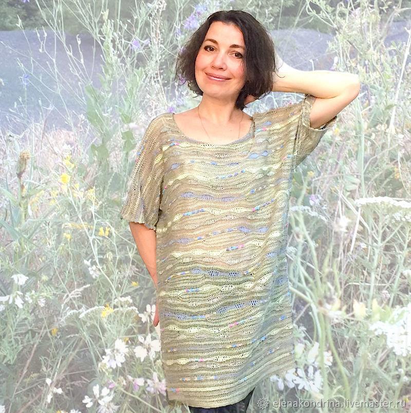 Linen tunic 'Wormwood', Tunics, Ivanovo,  Фото №1