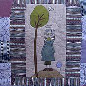 """Для дома и интерьера ручной работы. Ярмарка Мастеров - ручная работа """"Ангельская семейка"""", лоскутное одеяло.. Handmade."""