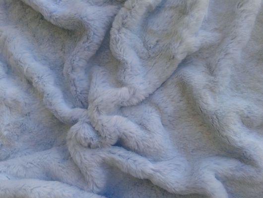 Шитье ручной работы. Ярмарка Мастеров - ручная работа. Купить Мех Тиссавель стриженный кролик нежно-голубой. Handmade. Мех