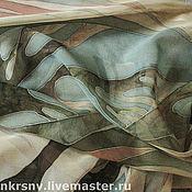 """Аксессуары ручной работы. Ярмарка Мастеров - ручная работа Шарф """"Нежность"""". Handmade."""