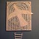 Символизм ручной работы. Ярмарка Мастеров - ручная работа. Купить панно Белая птица. Handmade. Белый, душа, врата, устремление