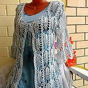"""Одежда handmade. Livemaster - original item Ажурный кардиган """"Нежность лета"""" ручной работы. Handmade."""