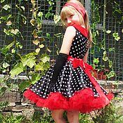 -15% Пышное платье для девочки в стиле 50-х