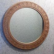 Для дома и интерьера ручной работы. Ярмарка Мастеров - ручная работа Зеркало в раме из дерева, заготовка для декупажа. Handmade.