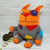 Куклы и игрушки handmade. Livemaster - original item Make a dummy of me... Soft toy cat Vasya Lozhkina. Handmade.
