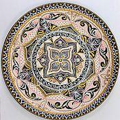 """Посуда ручной работы. Ярмарка Мастеров - ручная работа Декоративная тарелка """"Нежность"""". Handmade."""