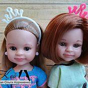 Куклы и игрушки handmade. Livemaster - original item Crown headband for Paola Reina dolls. Handmade.
