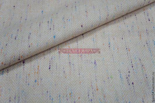 Шитье ручной работы. Ярмарка Мастеров - ручная работа. Купить Ткань кост. BLT-2067, 150 см, песочный меланж. Handmade.