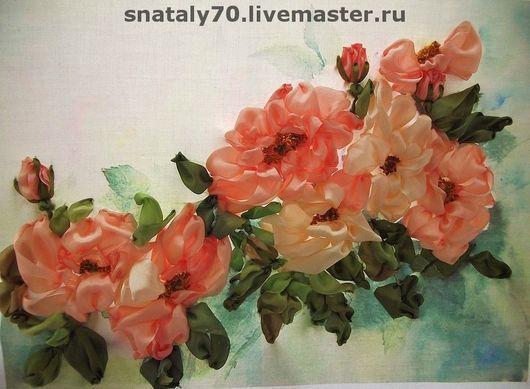 Flower Painting handmade. Livemaster - handmade. Buy The painting 'wild rose or dog Rose'.Handmade, interior painting