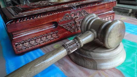 Подарочные наборы ручной работы. Ярмарка Мастеров - ручная работа. Купить Подарочный набор Правосудие. Handmade. Коричневый, именной подарок