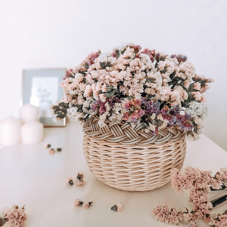 Плетеная ваза  для сухоцветов, Вазы, Каменск-Уральский,  Фото №1