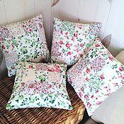 Для дома и интерьера ручной работы. Ярмарка Мастеров - ручная работа Шебби-подушечки. Handmade.