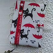 Канцелярские товары handmade. Livemaster - original item Notebook handmade Black cat. Handmade.