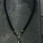 Украшения handmade. Livemaster - original item A copy of the work: Nordic pendant amulet. Handmade.