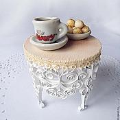 Куклы и игрушки ручной работы. Ярмарка Мастеров - ручная работа Кукольный столик Филигрань. Handmade.