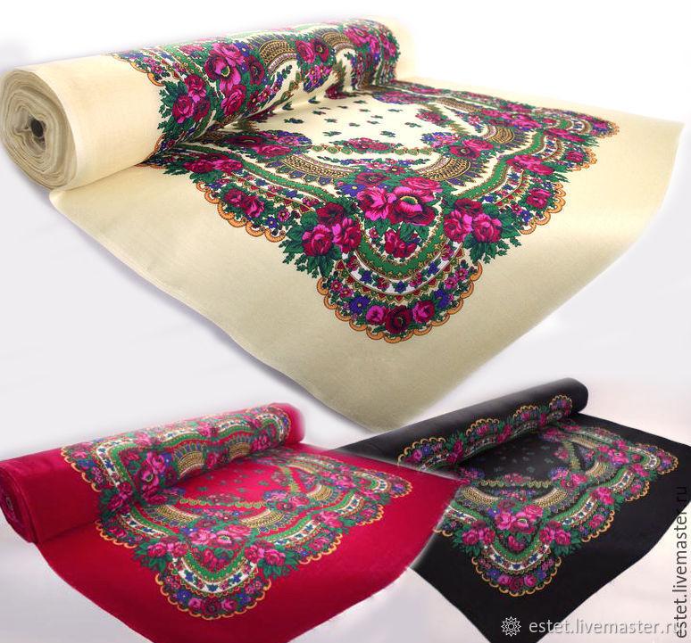 Платок; Платочная ткань, Ткани, Королев,  Фото №1
