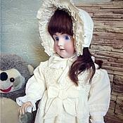 Куклы и игрушки ручной работы. Ярмарка Мастеров - ручная работа Наряд для антикварной куклы. Handmade.