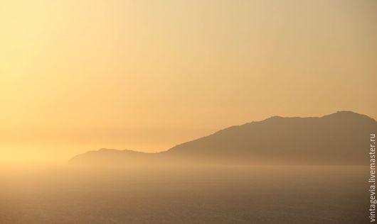Vintage Via. Авторская фоторабота `Закат на Капри`, Капри, 2015 г.