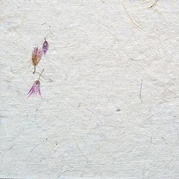 """Материалы для творчества ручной работы. Ярмарка Мастеров - ручная работа """"Сухоцветы"""" бумага для письма. Handmade."""
